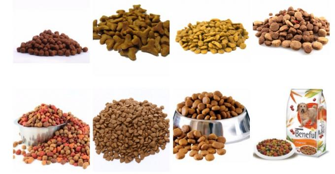 Dry Type Pet Food Processing Machinery Automatic Operation Type For Pet Food Pellet
