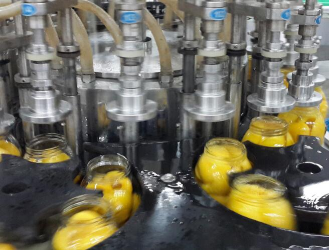 Canned Fruit / Canned Food Processing Equipment SUS304 Material SGS Approved