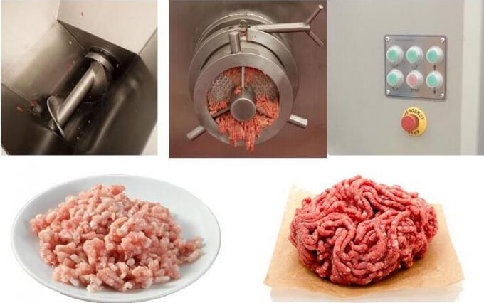 Automatic Electric Meat Processing Machine Fresh Meat / Frozen Meat Grinder