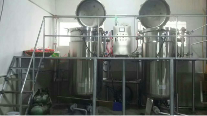 Hydraulic Automatic Vertical Autoclave , Vertical Retort For Wood / Herb