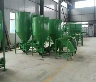 China Vertical Type Poultry Farm Equipment / Livestock Feed Mill Equipment supplier