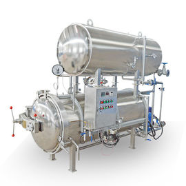 Double Layers Sterilization Autoclave for Packaged Food & Canned Food