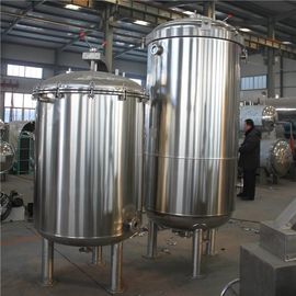 China Vertical Food Sterilization Equipment With Automatic Hydraulic Pressure Open / Close Door supplier