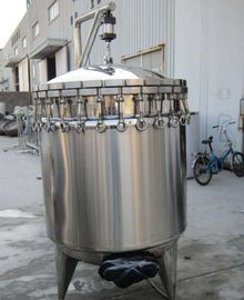 China Lingmai Food Sterilization Equipment Manual Open / Close Door Vertical Retort factory