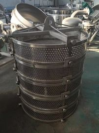 Load Container Stainless Steel Sterilization Bucket For Vertical Sterilization Autoclave